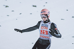 06.01.2021, Paul Außerleitner Schanze, Bischofshofen, AUT, FIS Weltcup Skisprung, Vierschanzentournee, Bischofshofen, Finale, im Bild Karl Geiger (GER) // Karl Geiger of Germany during the final of the Four Hills Tournament of FIS Ski Jumping World Cup at the Paul Außerleitner Schanze in Bischofshofen, Austria on 2021/01/06. EXPA Pictures © 2020, PhotoCredit: EXPA/ JFK
