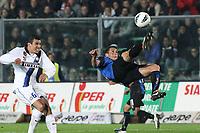 "German Denis Atalanta<br /> Bergamo 26/10/2011 Stadio ""Atleti Azzuri d'Italia""<br /> Football Calcio Serie A 2011-12<br /> Atalanta vs Inter<br /> Foto Insidefoto Paolo Nucci"