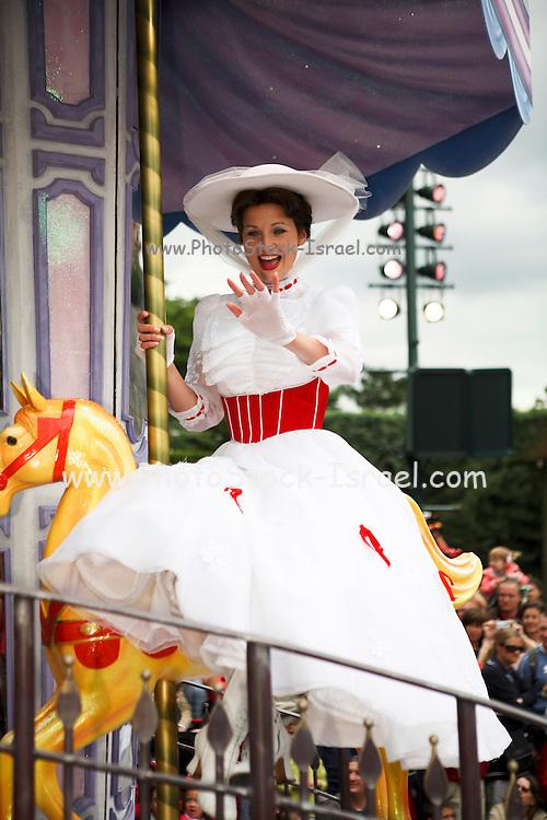 France, Paris, Euro Disney, entertainment park, Mary Poppins