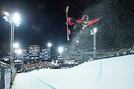 Cai Xuetong during Women's Snowboard Superpipe Finals during 2015 X Games Aspen at Buttermilk Mountain in Aspen, CO. ©Brett Wilhelm/ESPN