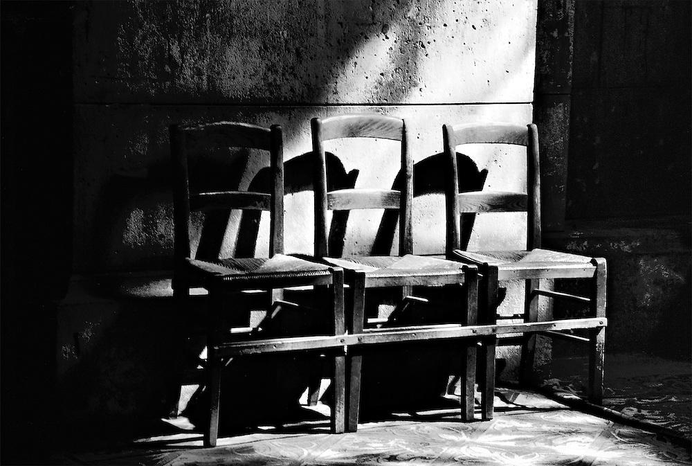 Sacré Coeur Chairs, Paris, France