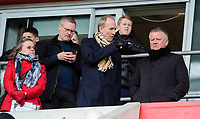 Sheffield United's assistant manager Alan Knill, left, and Sheffield United manager Chris Wilder watch the game<br /> <br /> Photographer Chris Vaughan/CameraSport<br /> <br /> The EFL Sky Bet Championship - Rotherham United v Blackburn Rovers - Saturday 2nd March 2019 - New York Stadium - Rotherham<br /> <br /> World Copyright © 2019 CameraSport. All rights reserved. 43 Linden Ave. Countesthorpe. Leicester. England. LE8 5PG - Tel: +44 (0) 116 277 4147 - admin@camerasport.com - www.camerasport.com
