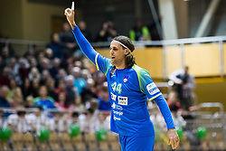 Bombac Dejan of Slovenia during friendly handball match between national teams Slovenia and Montenegro on 4th Januar, 2020, Trbovlje, Slovenia. Photo By Grega Valancic / Sportida