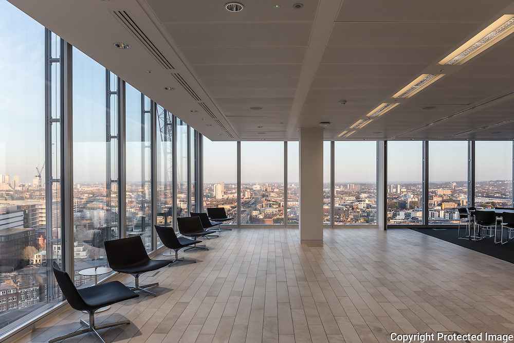 University of Warwick Business School, The Shard, London. Design by Berman Guedes Stretton Architects, 2015