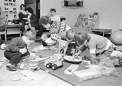 Toy library, Crabtree Farm Estate, Nottingham UK 1988