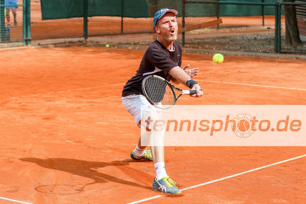 Michael Radder (Grunewald Tennis-Club), Grunewald Open 2018 - Senioren, Finals, Berlin, 16.09.2018, Foto: Claudio Gärtner