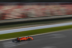 February 19, 2019 - Barcelona, Catalonia, Spain - CHARLES LECLERC (MON) from team Ferrari drives in his in his SF90 during day two of the Formula One winter testing at Circuit de Catalunya (Credit Image: © Matthias Oesterle/ZUMA Wire)