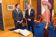 Dublin13-06-2019<br /> <br /> <br /> <br /> State Visit of King Willem-Alexander and Queen Maxima to Ireland.<br /> <br /> Visit Prime Minister Varadkar<br /> <br /> Foto: ROYALPORTRAITS EUROPE BERNARD RUEBSAMEN
