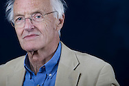 Celebrated English playwright and novelist Michael Frayn, pictured at the Edinburgh International Book Festival where he talked about his recently-published memoir. The three-week event is the world's biggest literary festival and is held during the annual Edinburgh Festival. The 2010 event featured talks and presentations by more than 500 authors from around the world.