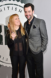 Andrea Arnold and Daniel Mays bei den British Independent Film Awards in London / 041216<br /> <br /> <br /> *** at the British Independent Film Awards in London on December 4th, 2016 ***