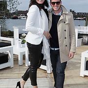 NLD/Amsterdam/20120419 - Lancering Moet Ice Imperial, Ellen Litz en Morris Nieuwenhuizen