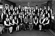 CERT students at The Torc Hotel Killarney with Pat Dooley, Ecker Gogsch in KIillarney 1994.<br /> Killarney Now & Then - MacMONAGLE photo archives.<br /> Picture by Don MacMonagle -macmonagle.com<br /> Facebook - @killarneynowandthen