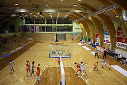 Vitranc Hall at basketball qualification match of women division B  between National teams of Slovenia and Netherlands, on August 27, 2008, in Vitranc Hall, Kranjska Gora. Win of NED 83:81. (Photo by Vid Ponikvar / Sportida)
