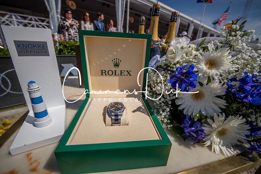 Mathy Prizegiving<br /> Grand Prix Rolex powered by Audi <br /> CSI5* Knokke 2019<br /> © Dirk Caremans<br /> Prizegiving