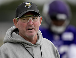 August 3, 2017 - Mankato, MN, USA - Minnesota Vikings head coach Mike Zimmer during the afternoon practice. ...... ] CARLOS GONZALEZ •    cgonzalez@startribune.com - August 3, 2017, Mankato, MN, Minnesota State University Mankato, Minnesota Vikings Training Camp, NFL  (Credit Image: © Carlos Gonzalez/Minneapolis Star Tribune via ZUMA Wire)