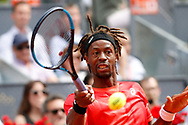 Gael Monfils of France in action during the Mutua Madrid Open 2018, tennis match on May 9, 2018 played at Caja Magica in Madrid, Spain - Photo Oscar J Barroso / SpainProSportsImages / DPPI / ProSportsImages / DPPI