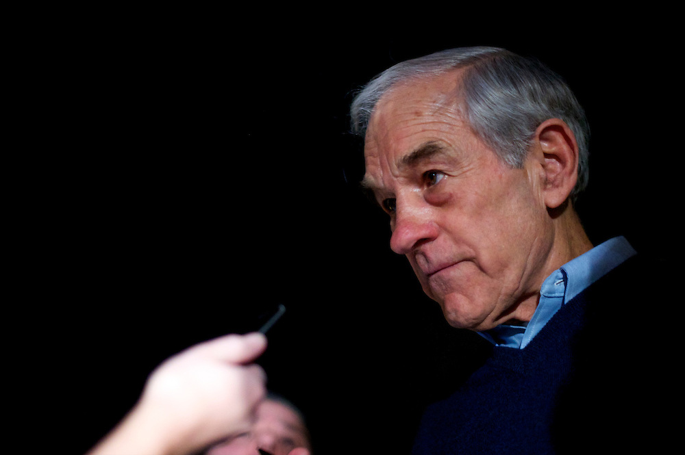Ron Paul holds a rally at Palisades Hall.  A presidential debate will be held tonight while the primary is on 21 January.
