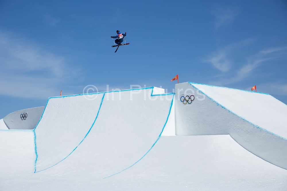 Isabel Atkin, Great Britain, during the Womens Ski Slopestyle finals at the Pyeongchang Winter Olympics on 17th February 2018 at Phoenix Snow Park in South Korea