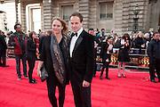 KATE BUCKLEY; JONNY LEE MILLER, Olivier Awards 2012, Royal Opera House, Covent Garde. London.  15 April 2012.
