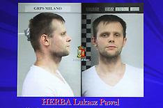 Milan: Pawel Herba Arrested - 6 Aug 2017