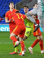 Football - 2022 FIFA World Cup - European Qualifying - Group E - Wales vs Czech Republic - Cardiff City Stadium<br /> <br /> Patrik Schick Czech Republic fouls Connor Roberts Wales is sent off<br /> <br /> COLORSPORT/WINSTON BYNORTH