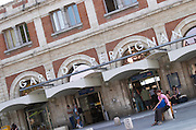 Train station. Perpignan, Roussillon, France.