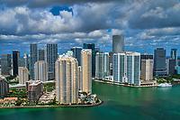Brickell Key & Downtown Miami