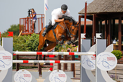 Youngster-Springprfg. Kl. M**, 8j. Pferde, CSN Ehlersdorf 17. - 19.07.2020 - Reitanlage Jörg Naeve, Quattro WZ - Schultz, Jan Philipp