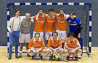 ROTTERDAM - Bloemendaal H2 Landskampioenschap zaalhockey voor reserveteams. FOTO KOEN SUYK