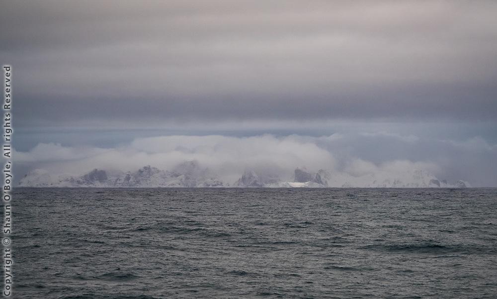 Desolation Island from Cape Shirreff