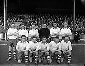 1958 - League of Ireland: Drumcondra v Waterford at Tolka Park.
