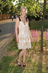 Actress MARGO STILLEY at the Serpentine Gallery Summer party sponsored by Yves Saint Laurent held at the Serpentine Gallery, Kensington Gardens, London W2 on 11th July 2006.<br />