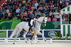 Michael Eilberg, (GBR), Half Moon Delphi - Grand Prix Special Dressage - Alltech FEI World Equestrian Games™ 2014 - Normandy, France.<br /> © Hippo Foto Team - Leanjo de Koster<br /> 25/06/14