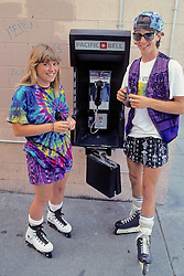 Kids At Phone