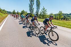 05.07.2017, Altheim, AUT, Ö-Tour, Österreich Radrundfahrt 2017, 3. Etappe von Wieselburg nach Altheim (226,2km), im Bild Stefan Denifl (AUT, Aqua Blue Sport, zweiter), Matthew Brammeier (IRL, Aqua Blue Sport, vorne) // Stefan Denifl (AUT, Aqua Blue Sport, zweiter), Matthew Brammeier (IRL, Aqua Blue Sport, vorne) during the 3rd stage from Wieselburg to Altheim (199,6km) of 2017 Tour of Austria. Altheim, Austria on 2017/07/05. EXPA Pictures © 2017, PhotoCredit: EXPA/ JFK