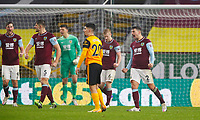 Football - 2020 / 2021 Premier League - Burnley vs Wolverhampton Wanderers - Turf Moor<br /> <br /> Matthew Lowton of Burnley celebrates at the final whistle at Turf Moor <br /> <br /> <br /> COLORSPORT/LYNNE CAMERON