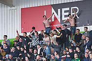Coventry City fans during the EFL Sky Bet League 1 match between Doncaster Rovers and Coventry City at the Keepmoat Stadium, Doncaster, England on 4 May 2019.