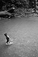The Embera people for centuries have lived semi-nomadic lives as hunter-gatherers and fishermen.