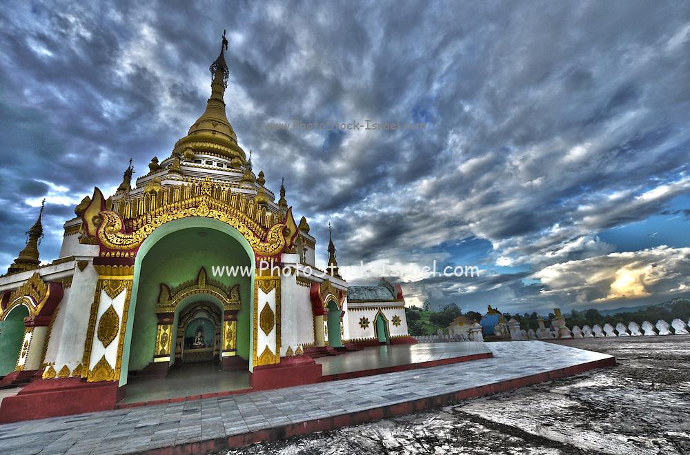 Buddhist temple, Myanmar