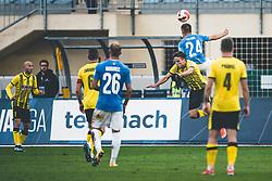 Amar Memić of NK Bravo during football match between NK Radomlje and NK Bravo in 10th Round of Prva Liga Telemach Slovenije 2021/22, on 22nd of September, 2021 in Sport park Domžale, Domžale Slovenija. Photo by Grega Valancic / Sportida