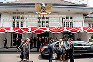 2016/01/09 JAKARTA - Koningin Maxima ontmoet Sri Mulyani Indrawiti minsyer van financien  bezoeken op Donderdag, 1 september tot 1 donderdag, september, de Republiek Indonesië in haar rol van speciale pleitbezorger van de secretaris-generaal van de Verenigde Naties voor Inclusive Finance for Development. COPYRIGHT ROBIN UTRECHT NETHERLANDS ONLY <br /> 1-9-2016 JAKARTA  - Queen Maxima  meets president indonesia  Joko Widodo Queen Maxima visit on thurday , 1 september to Thursday, September 1st, the Republic of Indonesia in its role of special advocate of the Secretary-General of the United Nations for Inclusive Finance for Development. COPYRIGHT ROBIN UTRECHT NETHERLANDS ONLY