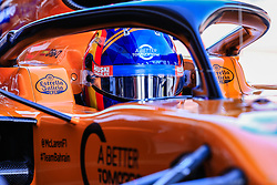 February 18, 2019 - Montmelo, BARCELONA, Spain - Carlos Sainz Jr from Spain with 55 Mclaren F1 Team - Renault MCL34 in action during the Formula 1 2019 Pre-Season Tests at Circuit de Barcelona - Catalunya in Montmelo, Spain on February 18. (Credit Image: © AFP7 via ZUMA Wire)