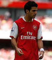 Photo: Steve Bond.<br />Arsenal v Derby County. The FA Barclays Premiership. 22/09/2007. Cesc Fabrigas