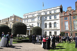 Guests during a reception for the Prince's Trust International, at St James's Palace State Apartments in London, during the Commonwealth Heads of Government Meeting.
