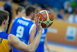 04.09.2013, Arena Bonifka, Koper, SLO, Eurobasket EM 2013, Schweden vs Griechenland, im Bild Ball // during Eurobasket EM 2013 match between Sweden and Greece at Arena Bonifka in Koper, Slowenia on 2013/09/04. EXPA Pictures © 2013, PhotoCredit: EXPA/ Sportida/ Matic Klansek Velej<br />