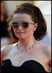 Helena Bonham Carter arrives for the BAFTA TV Awards at the Theatre Royal, London, United Kingdom. Sunday, 18th May 2014. Picture by Andrew Parsons / i-Images