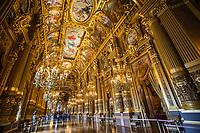 Paris - Le Palais Garnier (Opera House Interior)