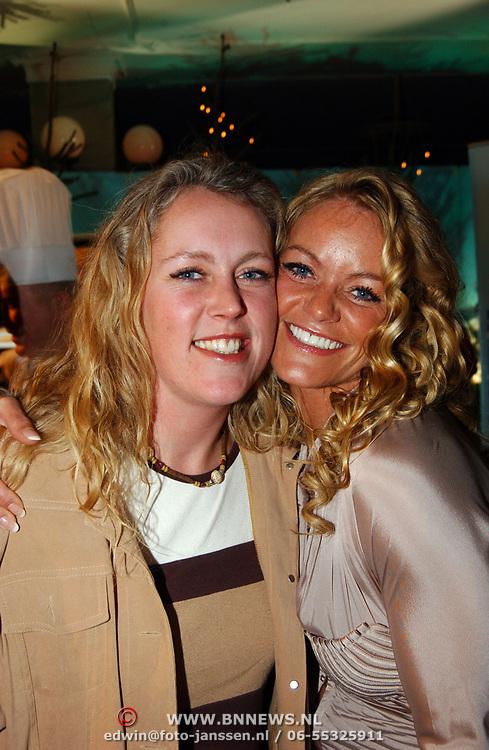 Kerstborrel Princess 2004, Inge de Bruijn, zus Jakline