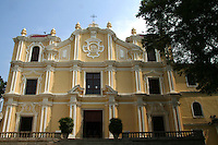 Established in 1728 St Joseph's  Seminary, together with St. Paul's College, was the principal base for  missionary work undertaken in China, Japan and elsewhere in Asia. Together with the Ruins of St. Paul's, this is the only example of baroque architecture in China.  Inside the church lies a fragment of bone from the arm of St. Francis Xavier, one of Macau's most precious religious relics.