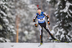 March 9, 2019 - –Stersund, Sweden - 190309 Florent Claude of Belgium competes in the Men's 10 KM sprint during the IBU World Championships Biathlon on March 9, 2019 in Östersund..Photo: Petter Arvidson / BILDBYRÃ…N / kod PA / 92252 (Credit Image: © Petter Arvidson/Bildbyran via ZUMA Press)